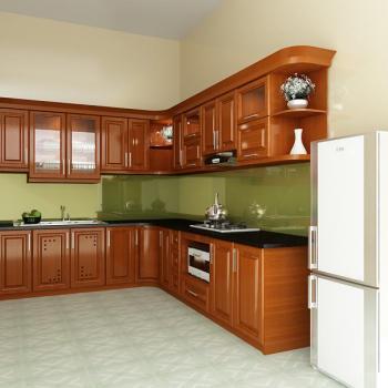 Chọn vị trí đặc tủ bếp đẹp cho nhà phố