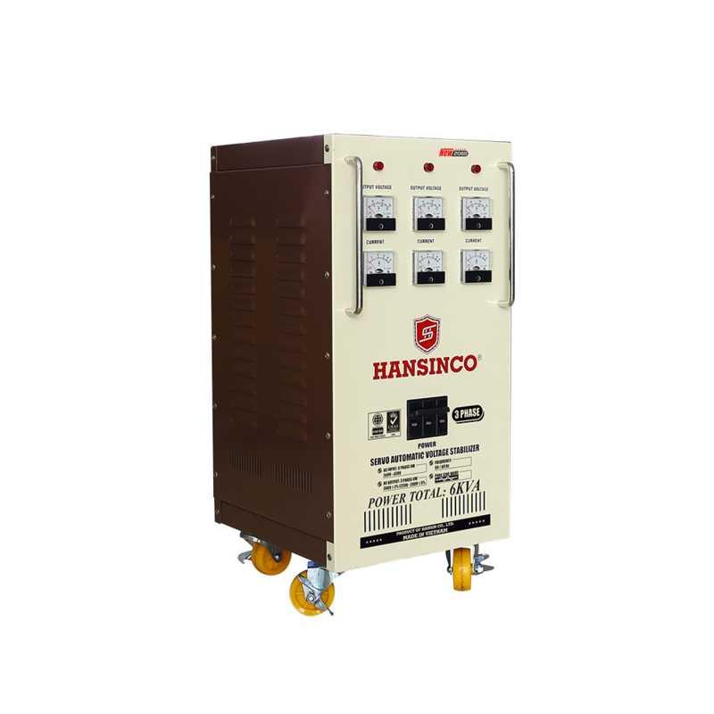 mua máy ổn áp công nghiệp 3 phase new 2088 - 6 KVA